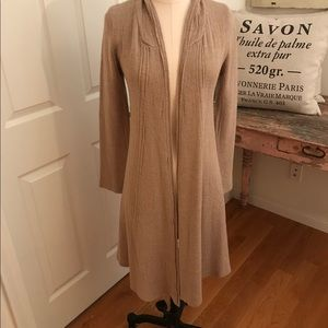 Sweaters - Lf Store everybody talks tan maxi cardigan S new